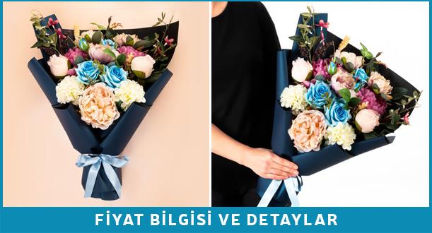nişanlıya çiçek hediye