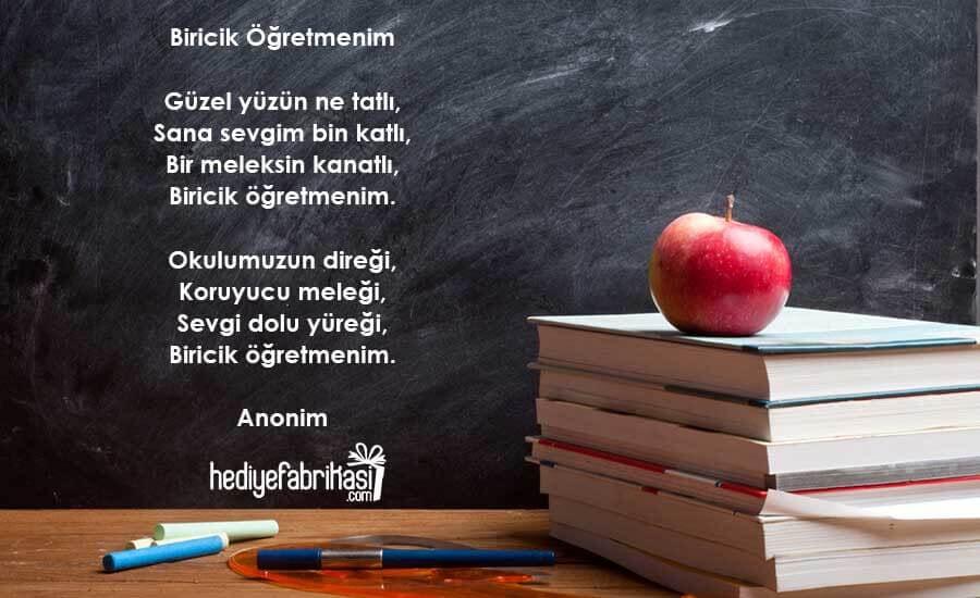 öğretmenler günü şiirleri