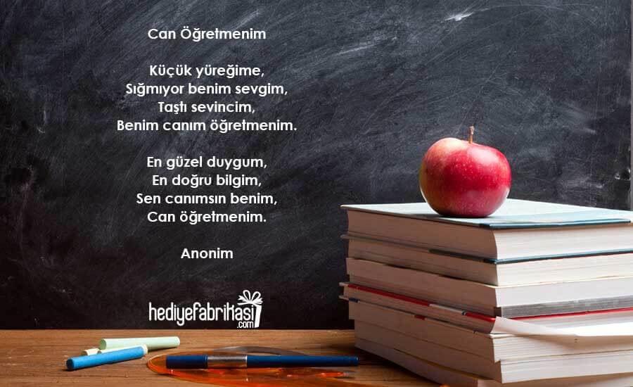 2 kıtalık öğretmenler günü şiiri