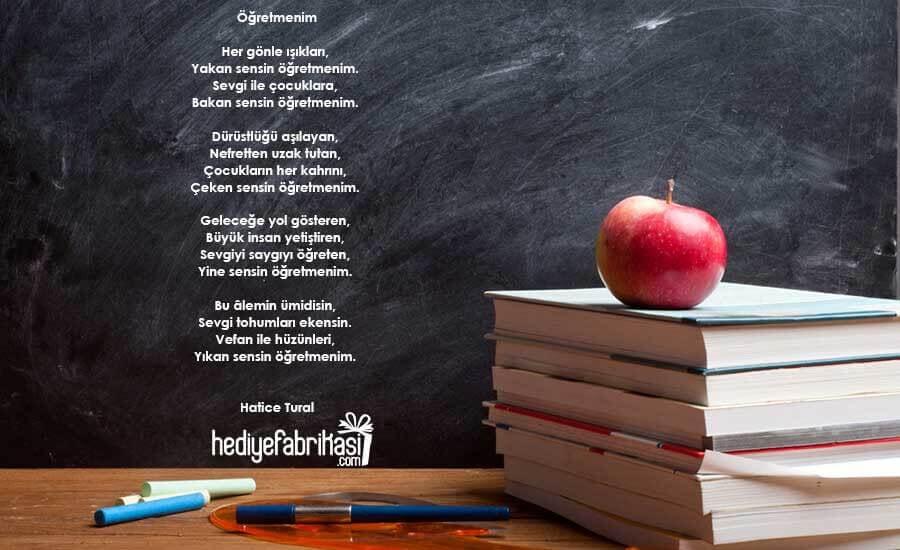 4 kıtalık öğretmenler günü şiiri