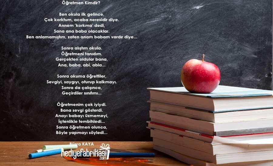 canım öğretmenim şiiri