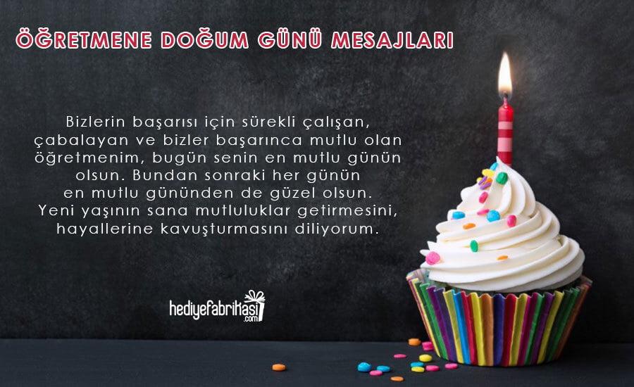 öğretmene doğum günü sözleri