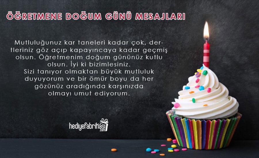en anlamlı öğretmene doğum günü mesajı