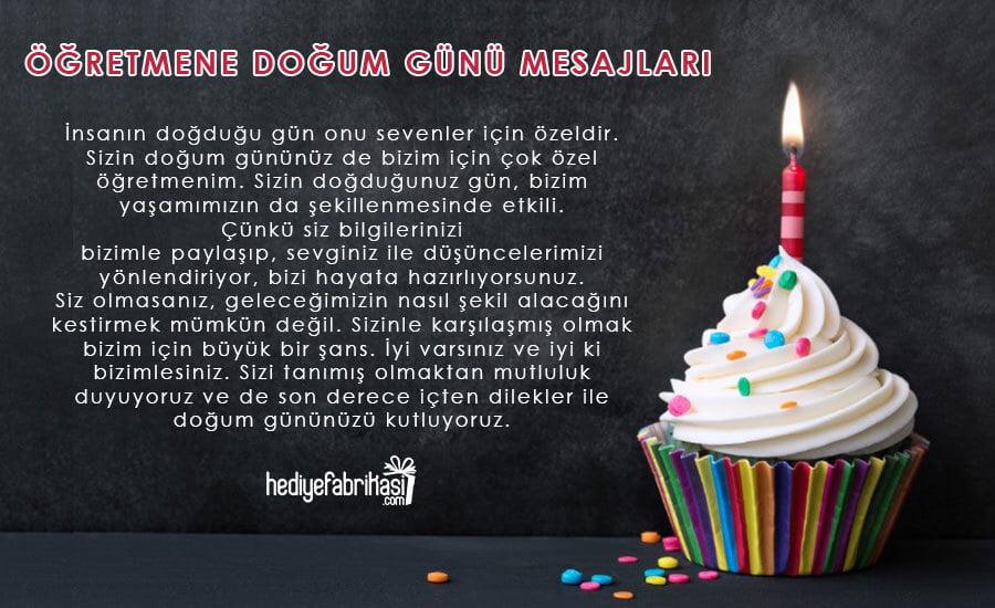 erkek öğretmene doğum günü mesajları