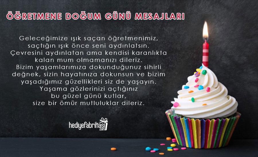sınıf öğretmenine doğum günü mesajı