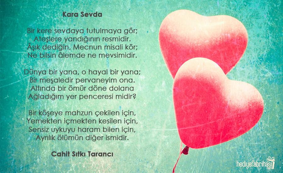 seni seviyorum şiiri