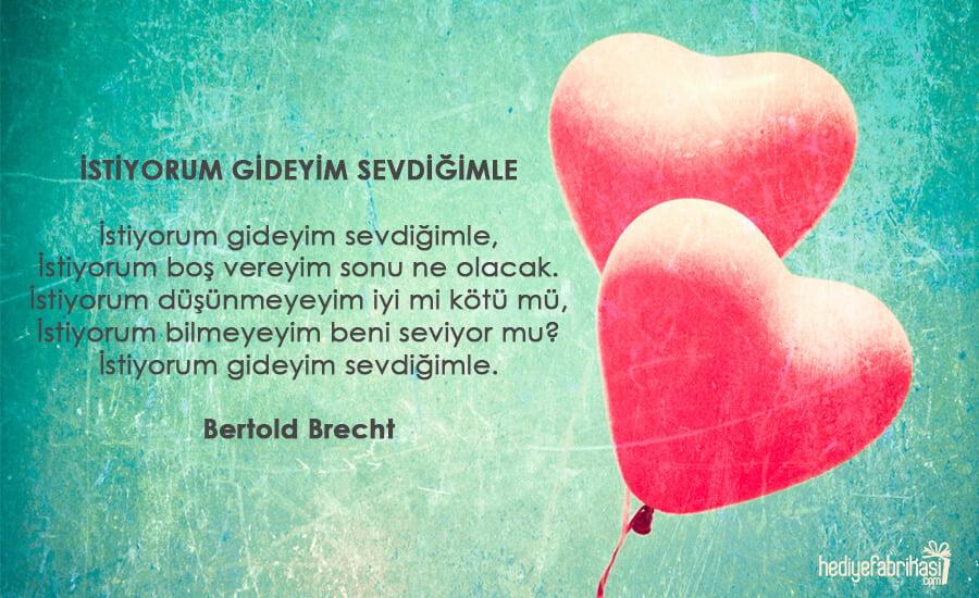 sevgiliye şiir