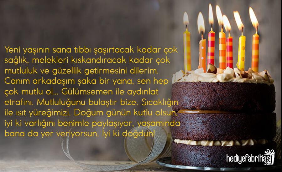 arkadaşa doğum günü mesajları