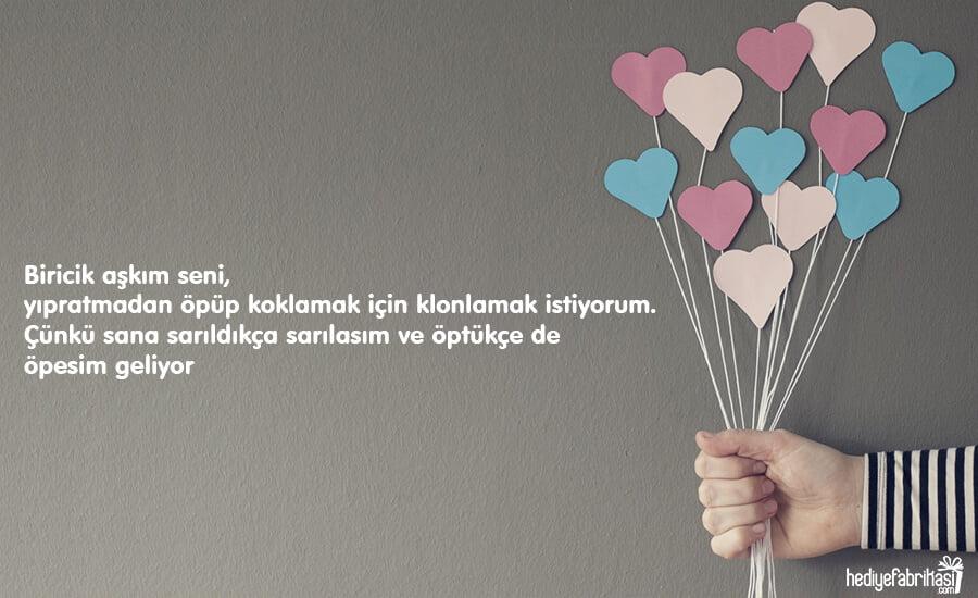 sevgiliye romantik mesajlar