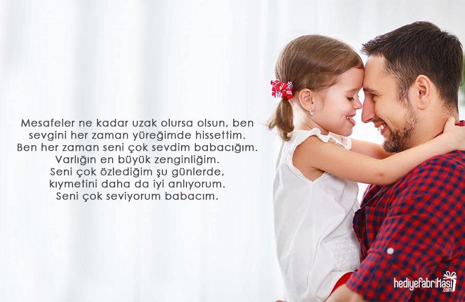 babaya özlem sözleri