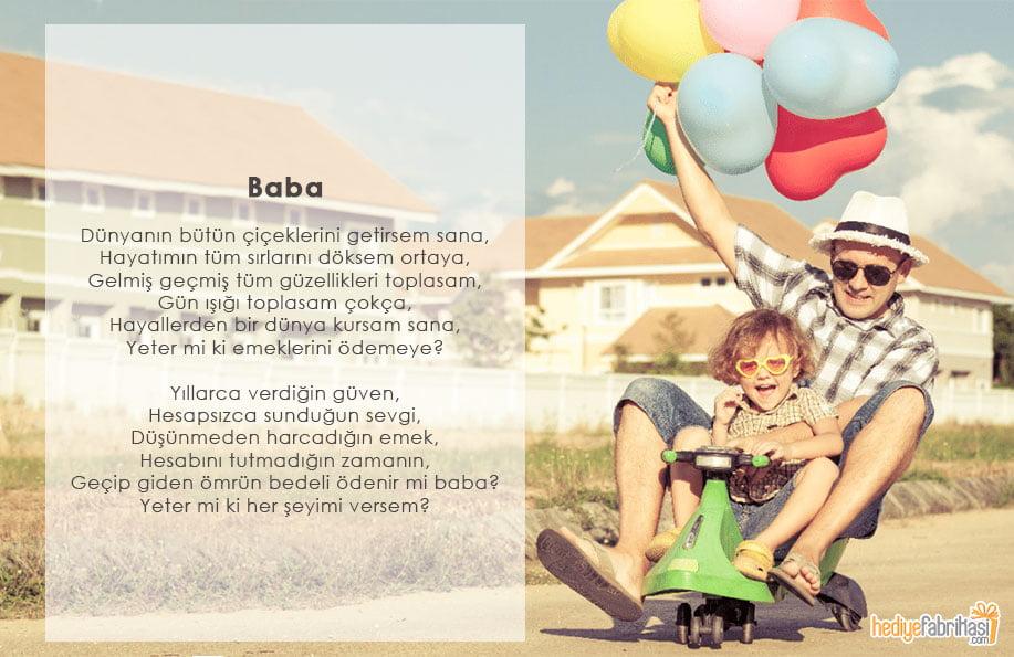Baba şiiri En Içten 20 Babalar Günü şiirleri Hediye Fabrikası Blog