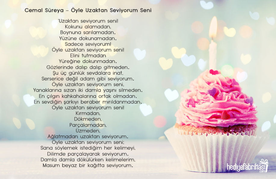 doğum günü şiirleri cemal süreya