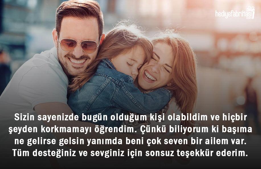 aile hakkında sözler
