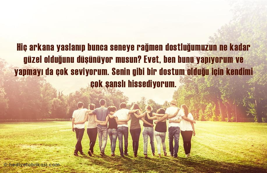dostluk sözleri