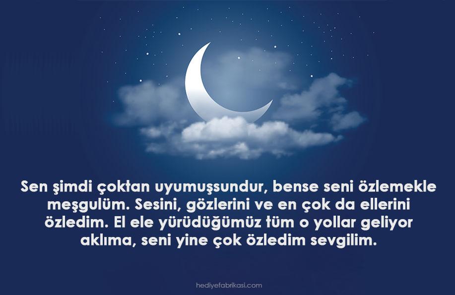 iyi geceler mesajları