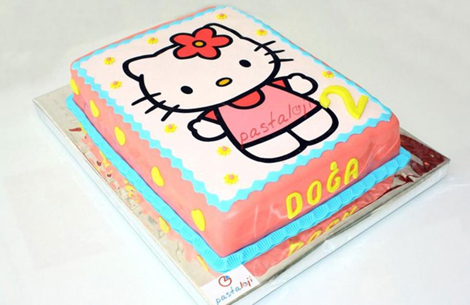 fotoğraflı 1 yaş pastası