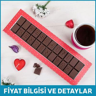 sevgiliye doğum günü hediyesi harf çikolata