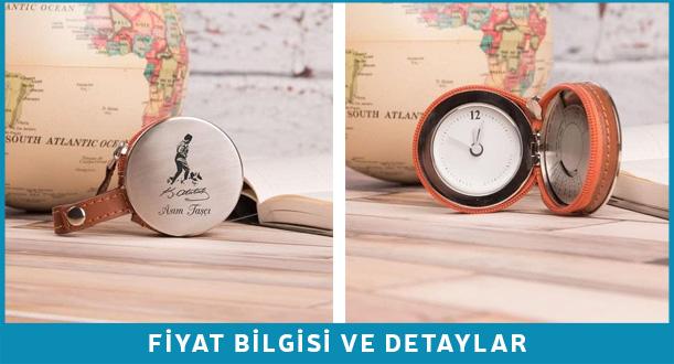 Atatürk imzalı cep saati