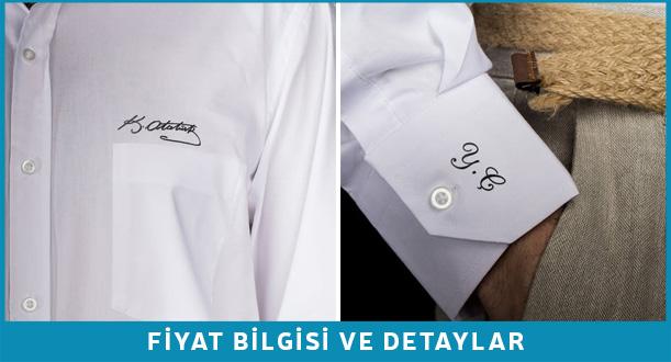 Atatürk imzalı gömlek