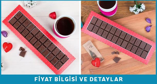 yeni iş hediyesi çikolata