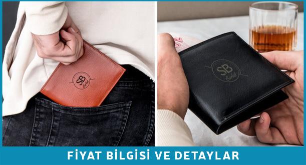 kişiye özel cüzdan erkek