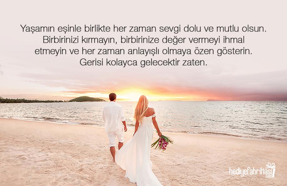 evlilik tebrik mesajı