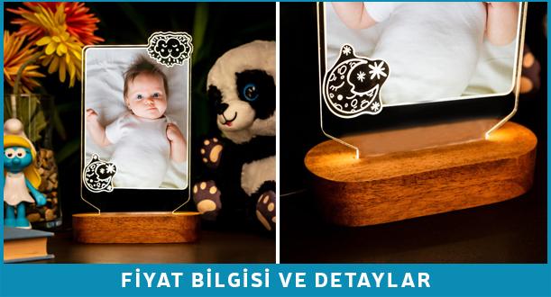 bebek odası led lamba